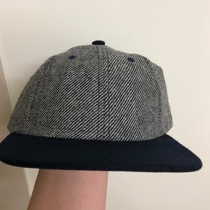 Brand New - Gents Co Wool Flat Brim Cap